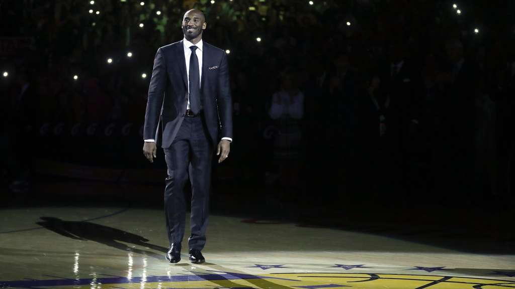 Lakers-Legende Kobe Bryant geehrt
