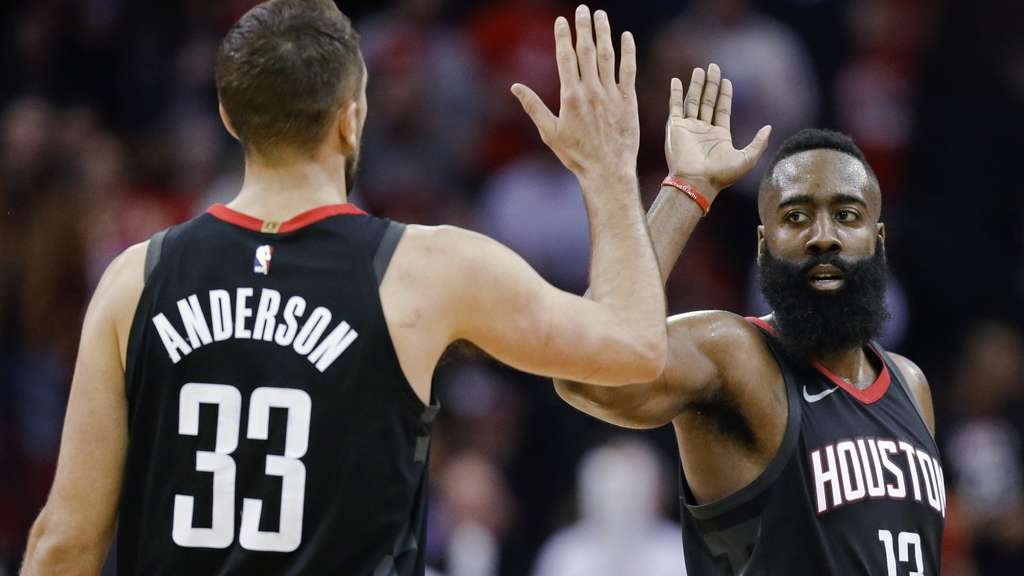NBA-Star Harden mit Rekordleistung bei Houston-Sieg