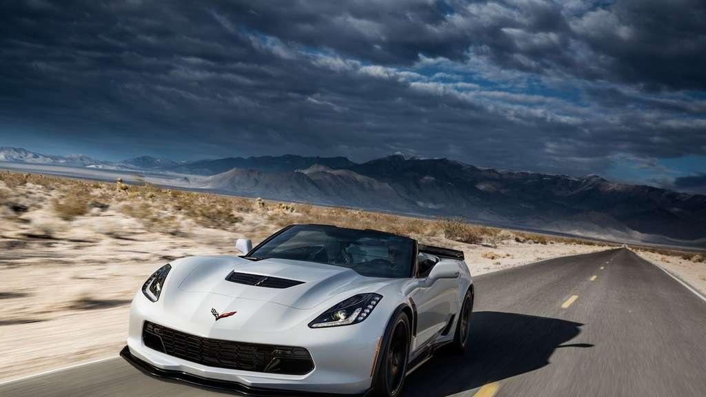 Corvette Z06 Cabrio Im Test Mit Vollgas Der Sonne Entgegen Auto