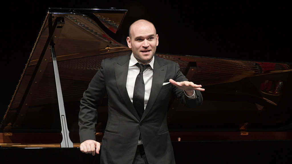 US-Tenor Michael Fabiano in der Oper Frankfurt.