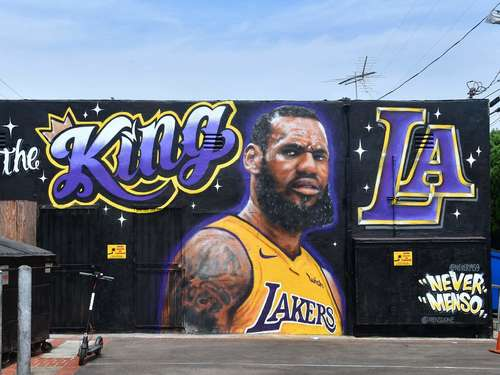 LeBron James in Los Angeles vorgestellt