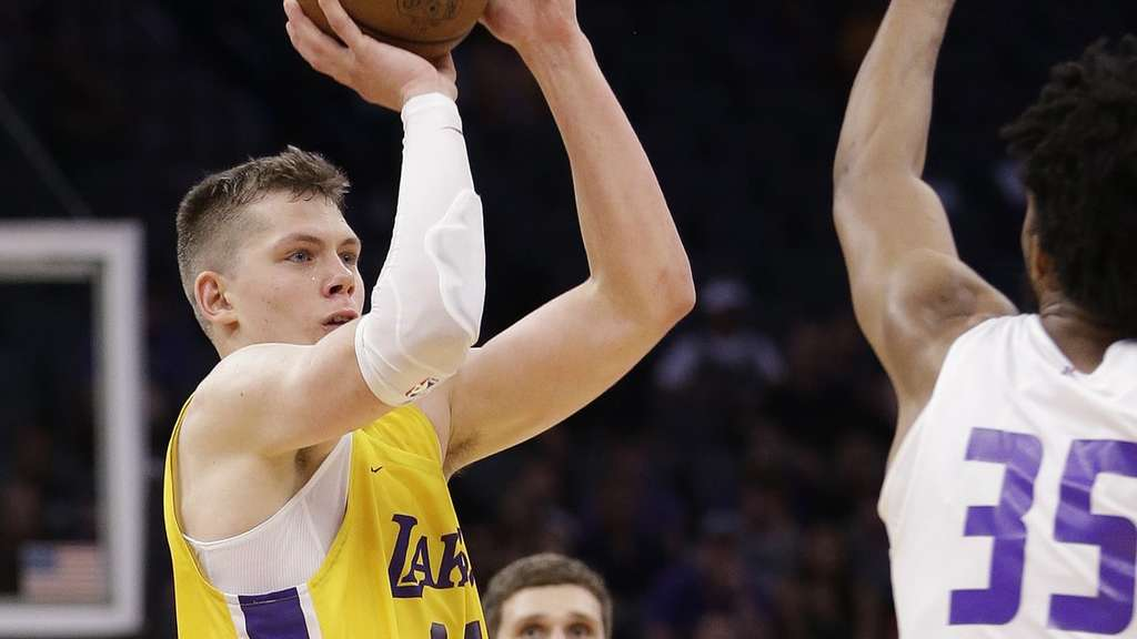 Basketball-Talent Wagner verletzt sich bei Lakers-Erfolg