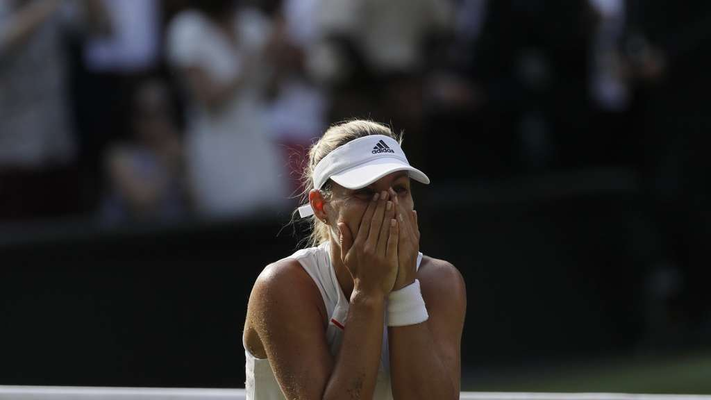 Wimbledonsiegerin Kerber Hier Zu Gewinnen Ist Für Immer Sport A Z