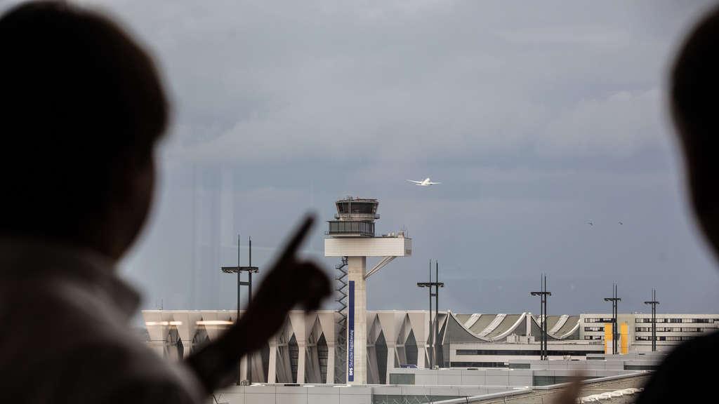 Unwetter Frankfurt Flughafen