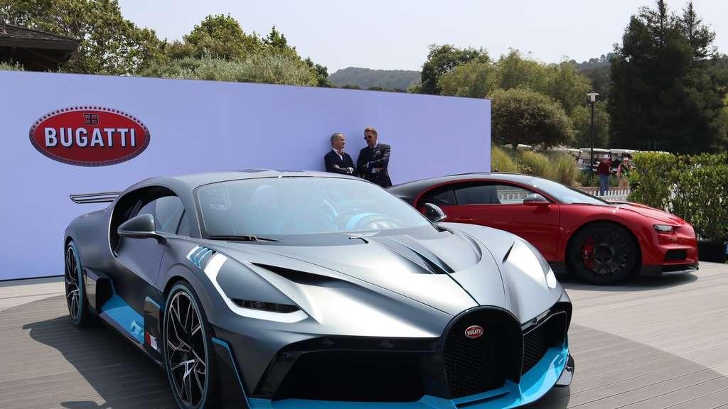 info for 0b052 e9544 Als Divo wird der Bugatti Chiron zum Kurvenkünstler   Auto