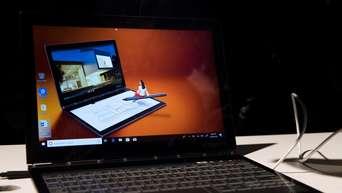 Lenovo Prasentiert Notebook Mit Lautsprecher Im Scharnier Wissen