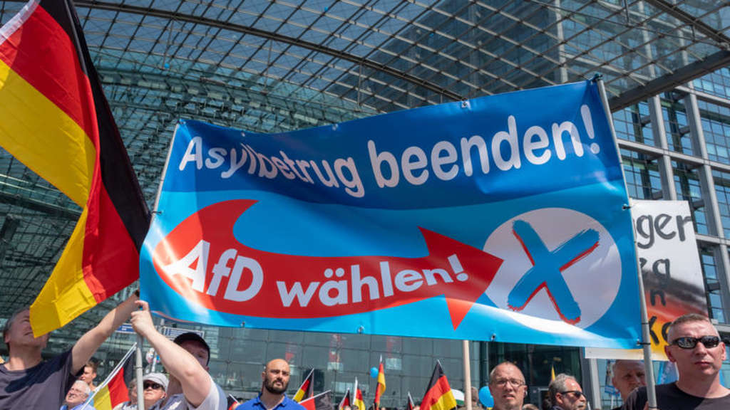 AfD-Demo in Berlin.