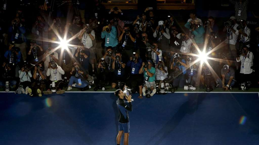 14. Grand-Slam-Titel für Djokovic