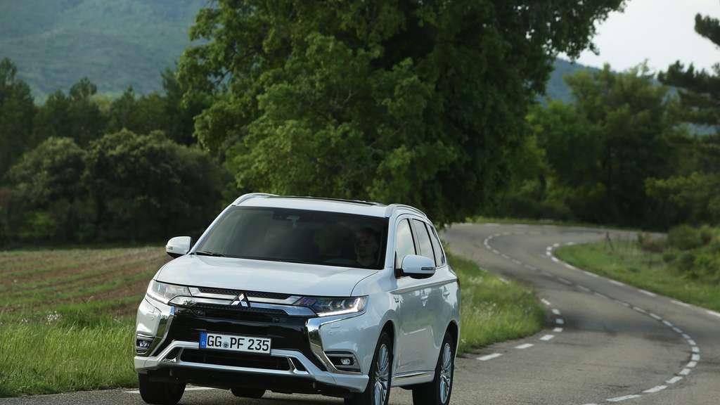 mitsubishi outlander phev im test: suv auf leisen sohlen | auto