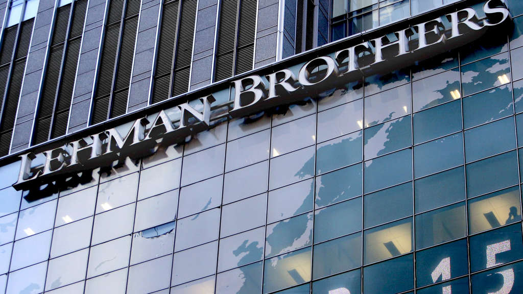 Am 15. September 2008 meldete die US-Investmentbank Lehman Brothers Konkurs an.