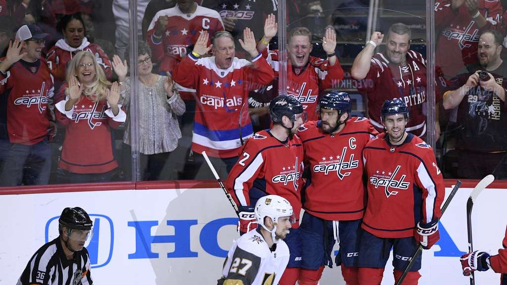 Washington Capitals besiegten die Vegas Golden Knights mit 5:2.