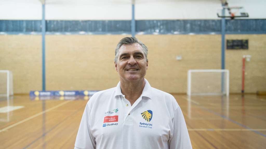 Handball-Coach Michael Roth arbeitet in Sydney.