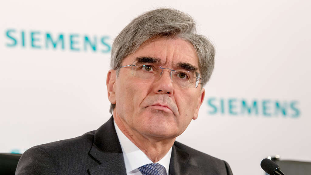 Siemens-Chef Joe Kaeser. (Archivbild)