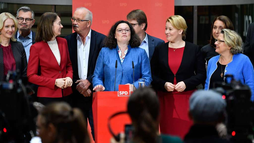 Alle hinter Nahles