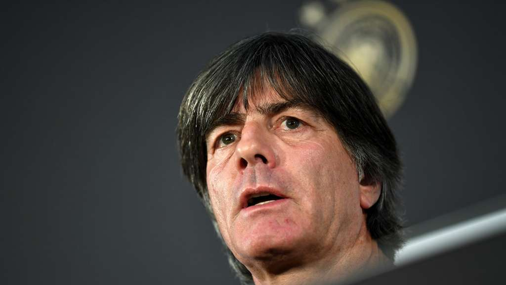 Joachim Löw war vom Abstieg in der Nations League genervt.