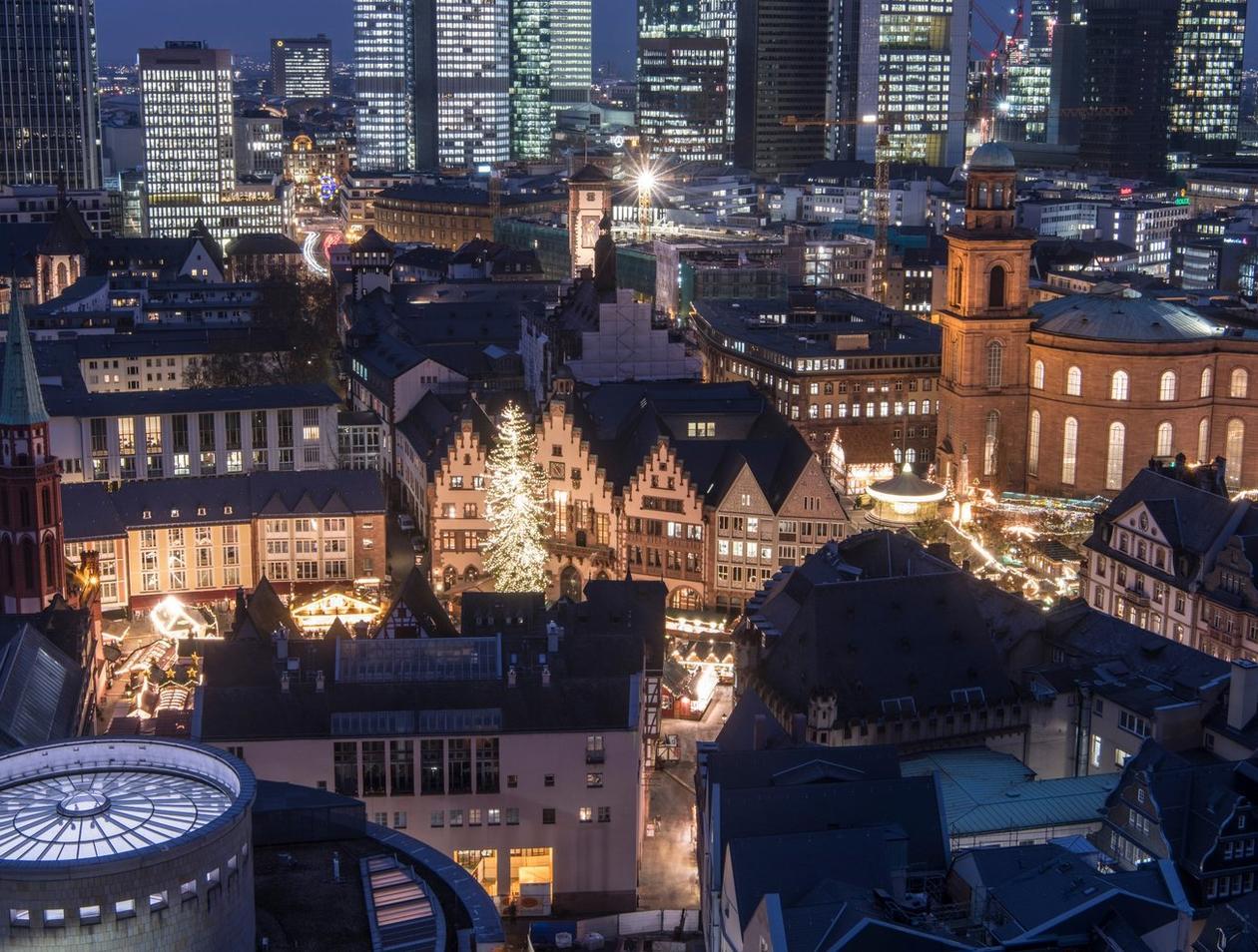 Frankfurt Weihnachtsmarkt öffnungszeiten.Damit Locken Weihnachtsmärkte In Hessen Reise