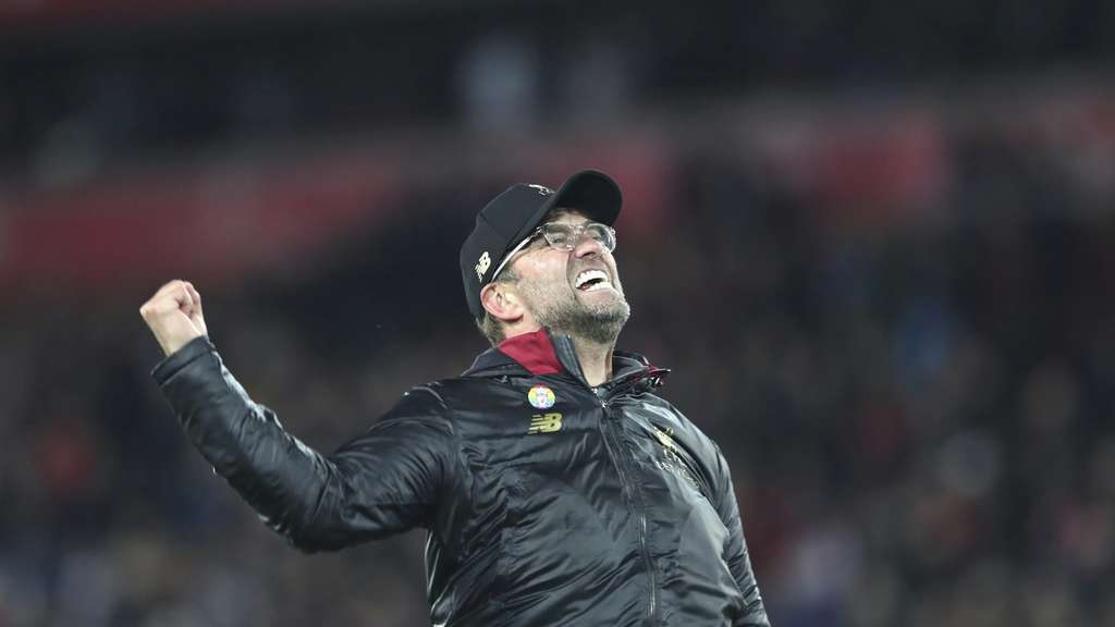 Emotional: Liverpool-Coach Jürgen Klopp.