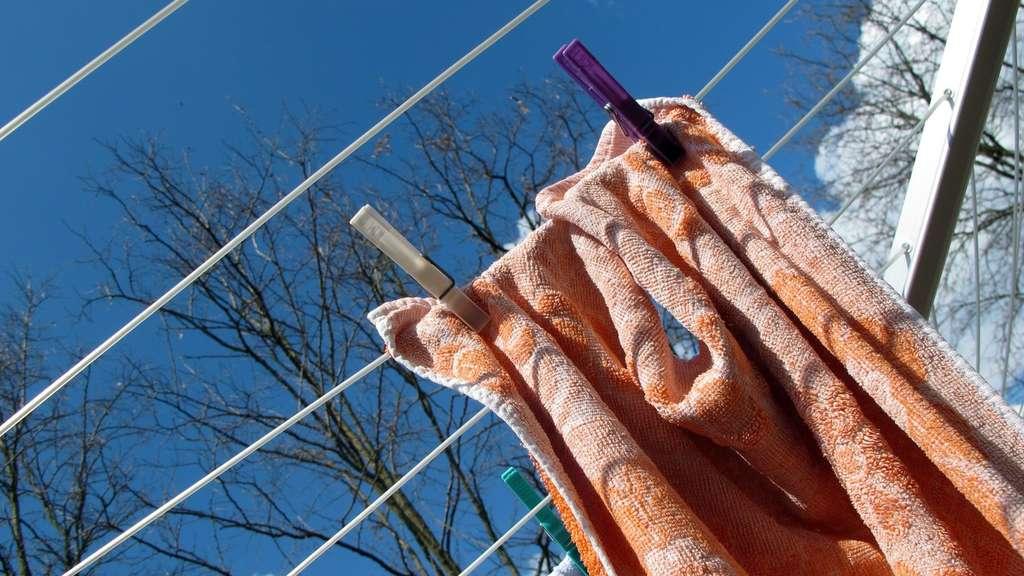 Frost Trocknet Feuchte Wasche Wohnen