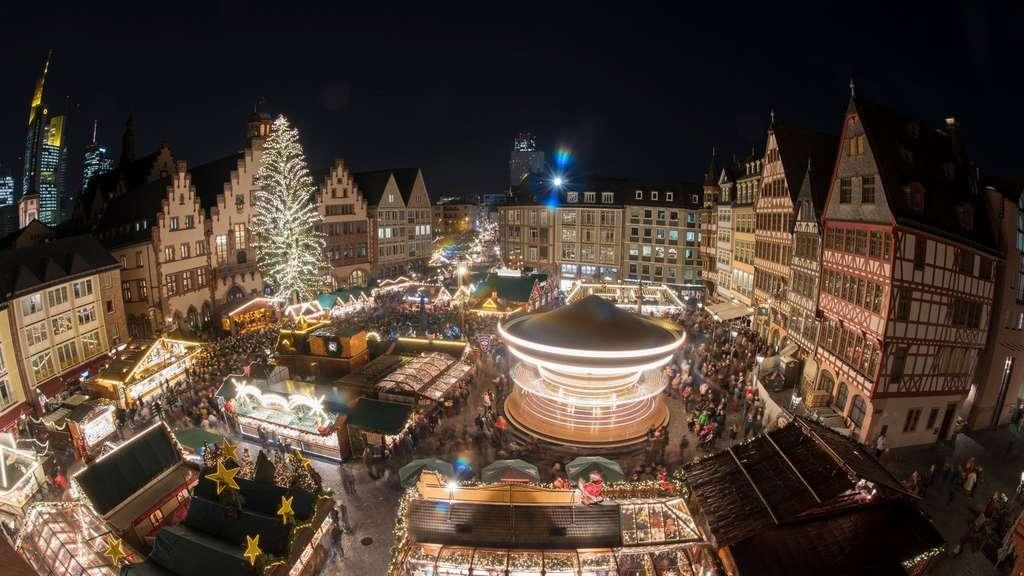 Weihnachtsmarkt Frankfurt Main.Keine Erhöhten Sicherheitsvorkehrungen Auf Weihnachtsmarkt Frankfurt
