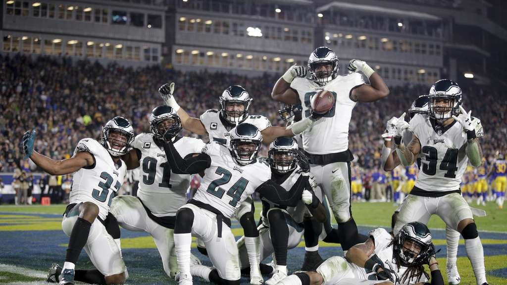 Derzeit gut in Form: Die Philadelphia Eagles.
