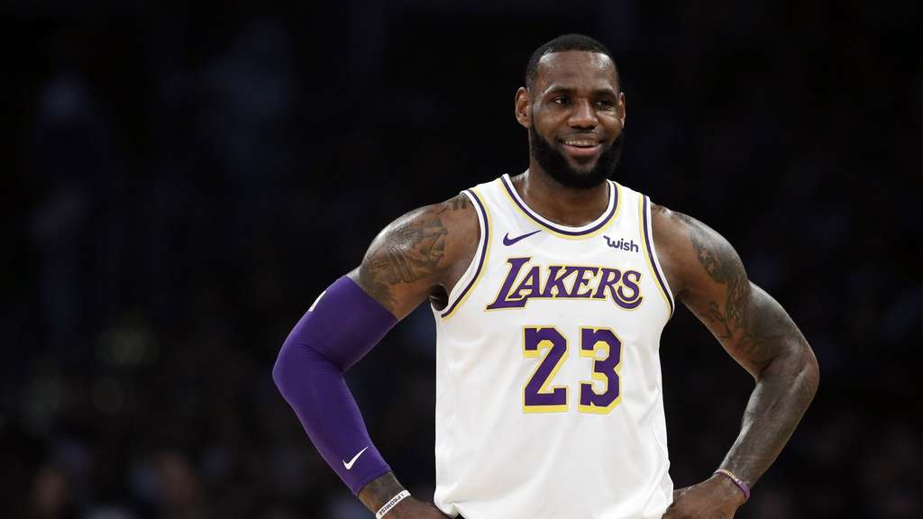 LeBron James ist der Star der Los Angeles Lakers.