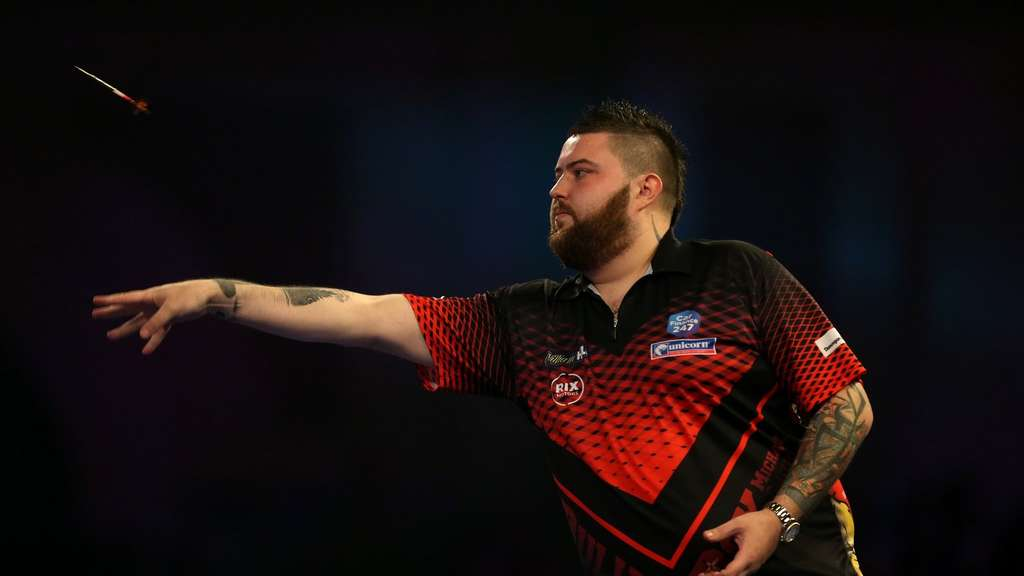 "Michael ""Bully Boy"" Smith steht im Finale der Darts-WM."