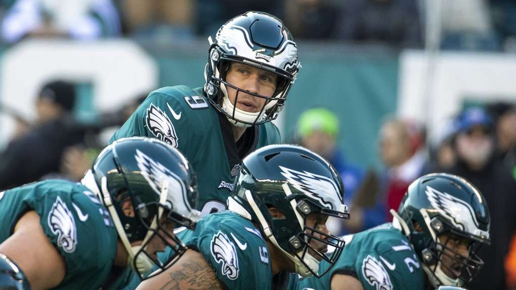 Nick Foles ist der Quarterback der Philadelphia Eagles.