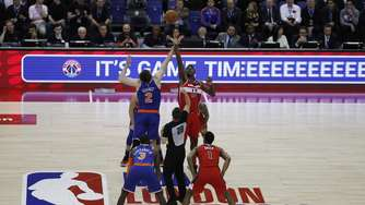 Wizards schlagen Knicks in London mit 101:100