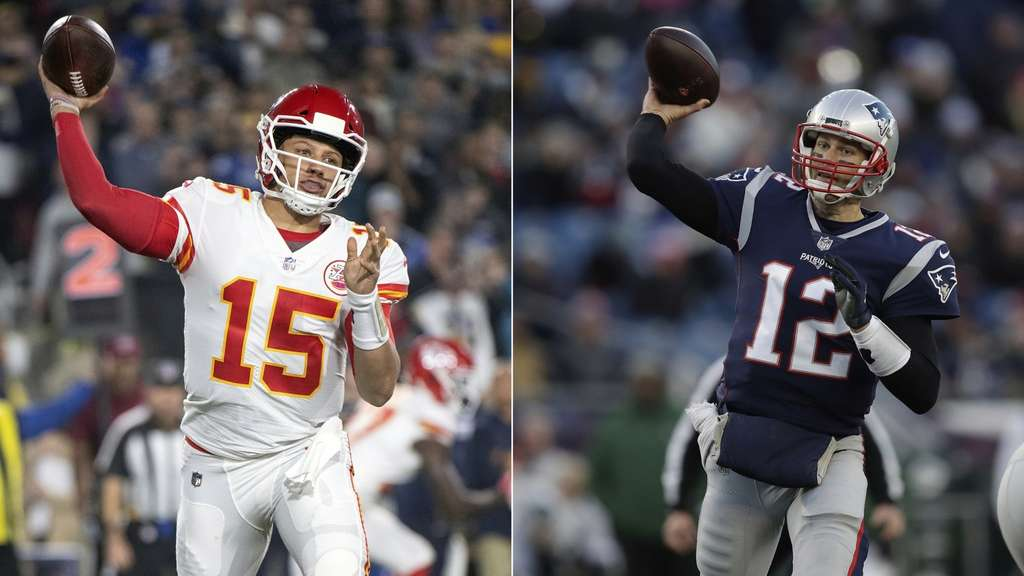 Youngster Mahomes fordert Altmeister Brady