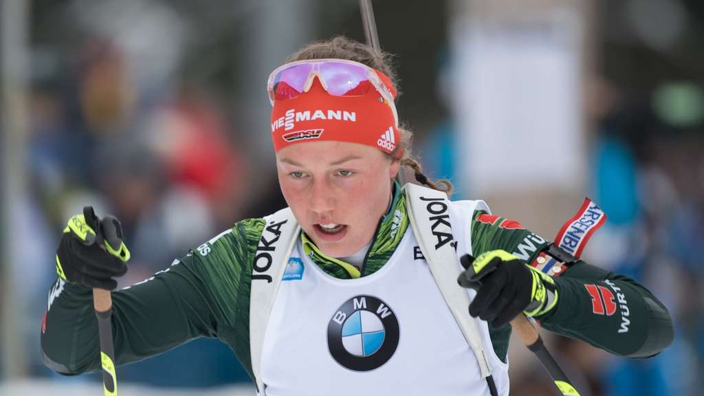 Geht in Antholz an den Start: Laura Dahlmeier.