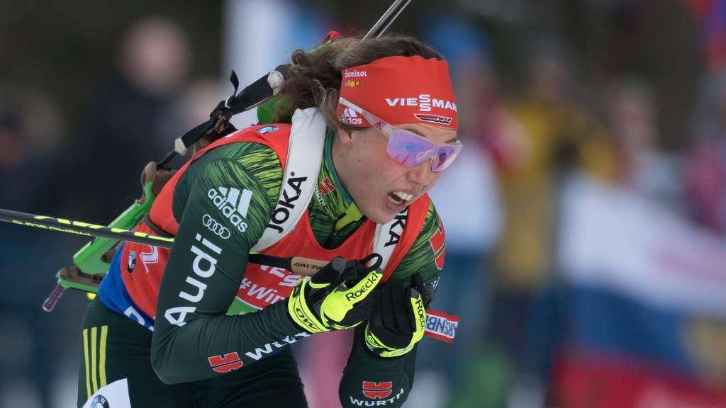 In Antholz gefordert: Laura Dahlmeier.