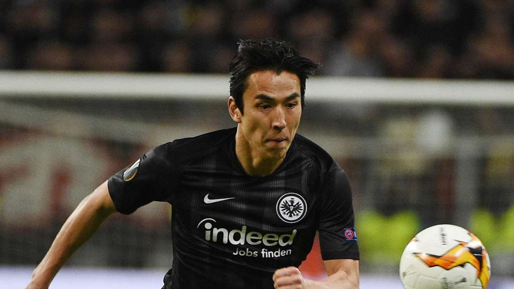 Makoto Hasebe Frankfurt MARCH 7 2019 Football Soccer UEFA Europa league Round of 16 match