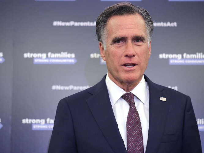 Republikaner Mitt Romney attackiert Donald Trump