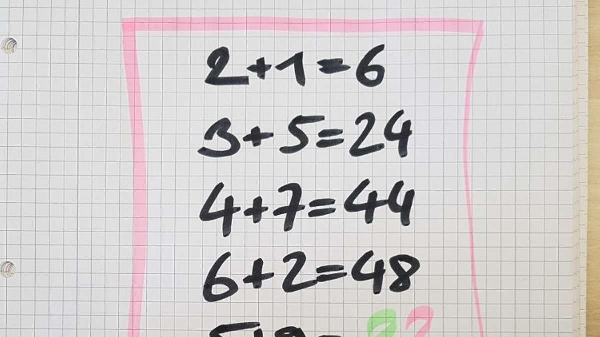 Mathe Rätzel