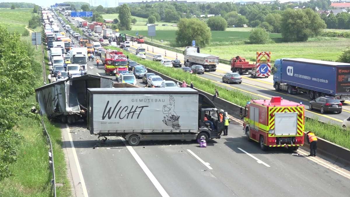 Unfall Auf A5 Gestern