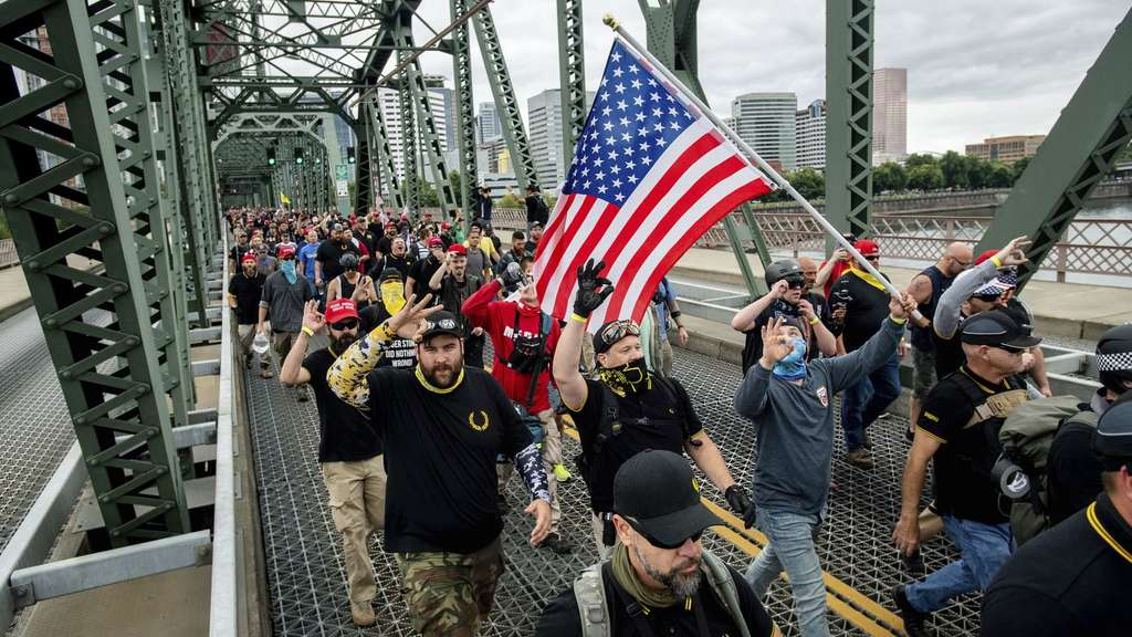 Proud Boys in Portland