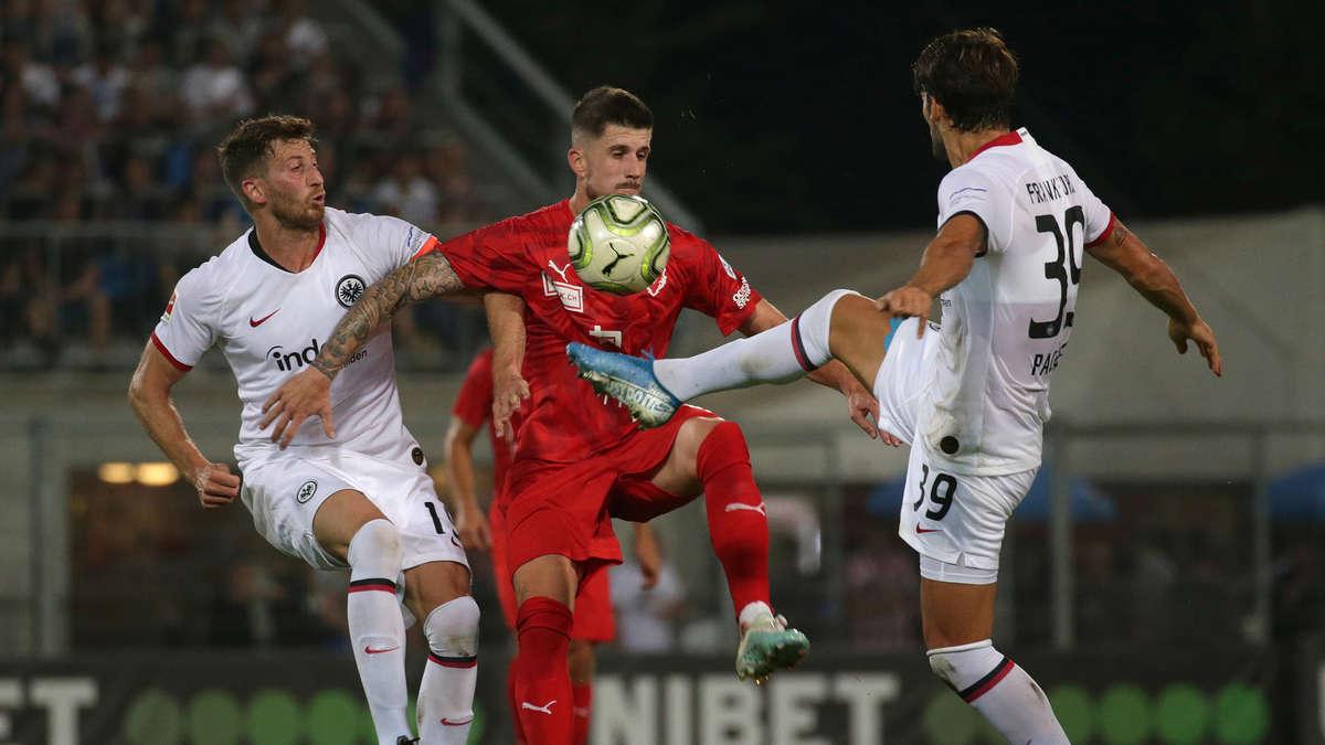 Eintracht Frankfurt gegen FC Vaduz: Europa League heute ...