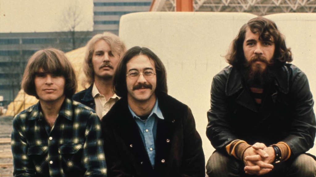 Creedence Clearwater Revival, um 1970. IxAUTxONLY ZU