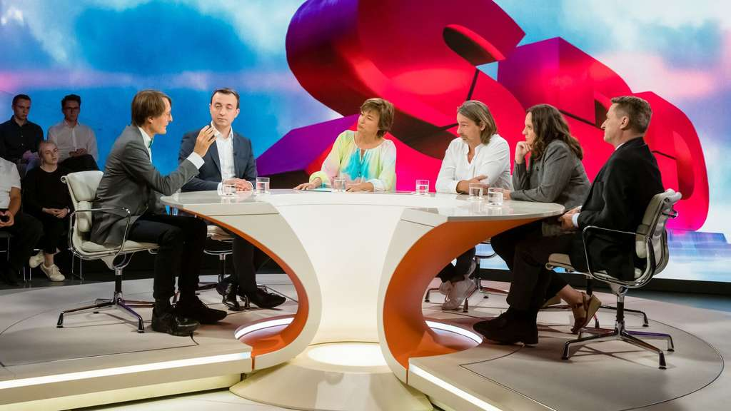 Maybrit Illner: Talkrunde im ZDF