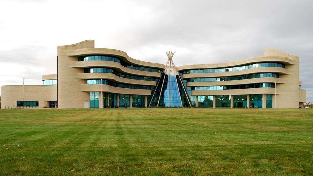 Die First Nations University in Regina gilt als vorbildlich.