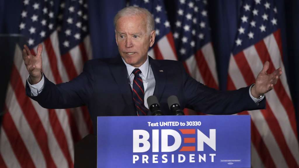 Joe Biden attackiert Donald Trump