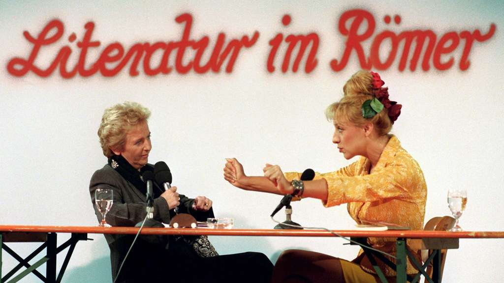 So war es 1988: Gisela Marx (links) und Sissi Perlinger.