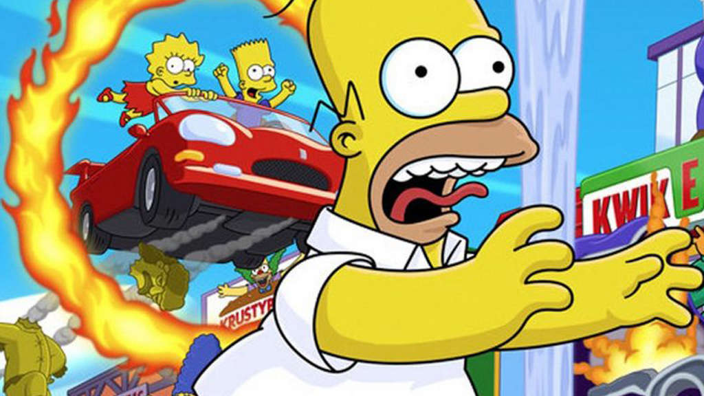 The-Simpsons-Hit-and-run-speedrun-700-us-dollar-artwork