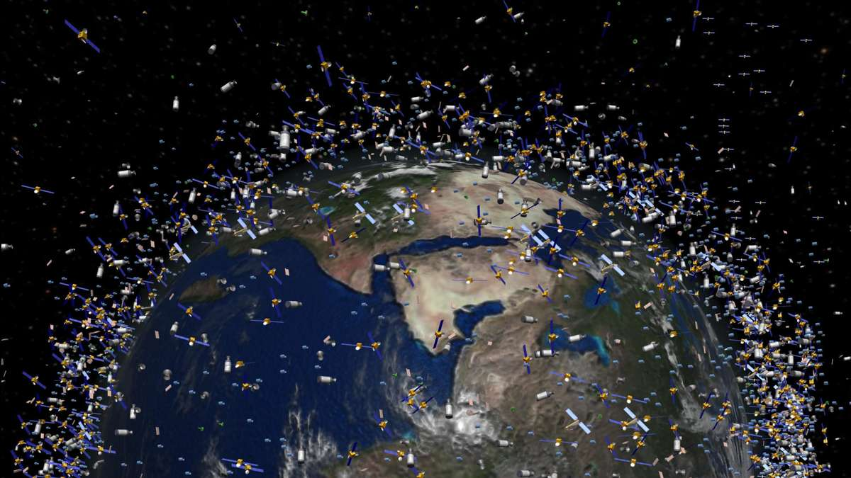 Elon Musk Satelliten Sichtbar