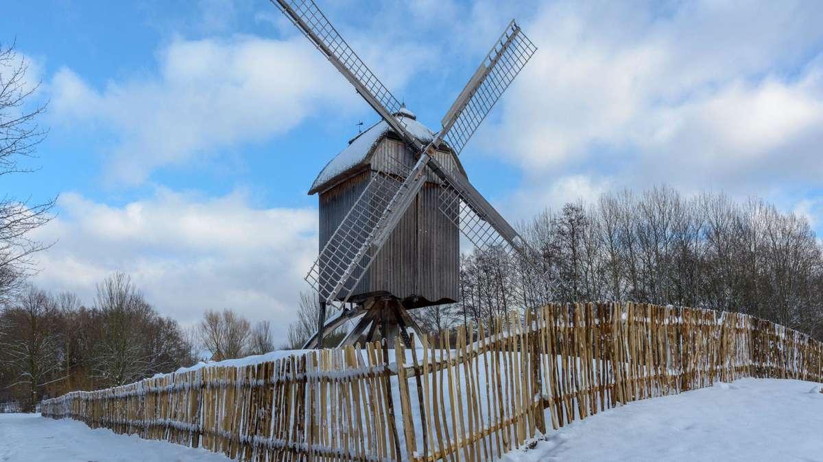 Winter im Hessenpark - Frankfurter Rundschau