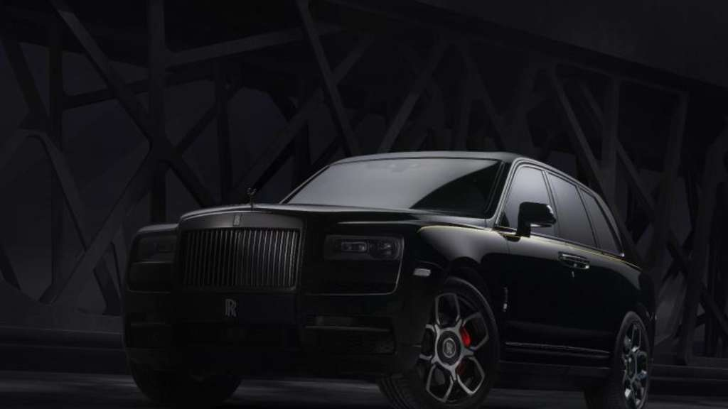 SUV Cullinan hat als Black Badge 600 PS