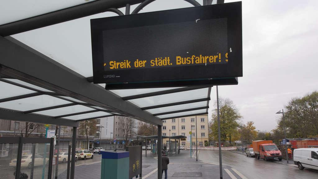 busse streiken frankfurt