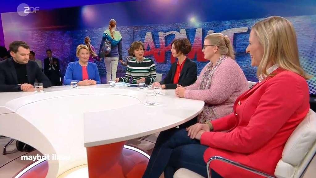 Maybrit Illner Risiko Familie Vor Allem Frauen Sind Von