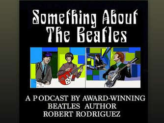 """Something about The Beatles. Smart, funny and surprising – just like the Fab Four"" , zu hören über alle gängigen Podcast-Apps."