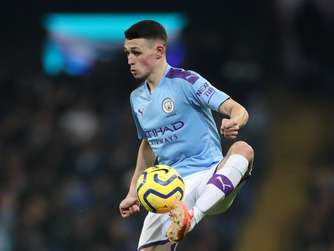 Phil Foden von Manchester City.